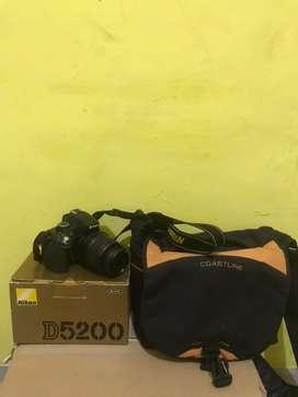 Nikon D5200 kit fullset bonus