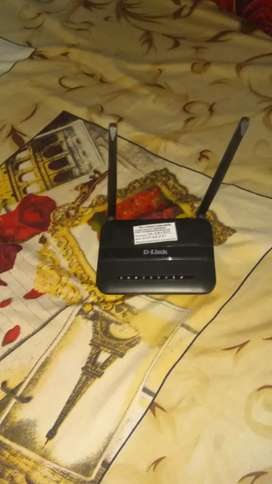 D Link Router Double Antena
