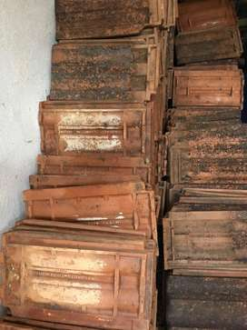 Manglore tiles or roofing tiles