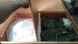 Very Good condition 3 year old 4 boxes storge