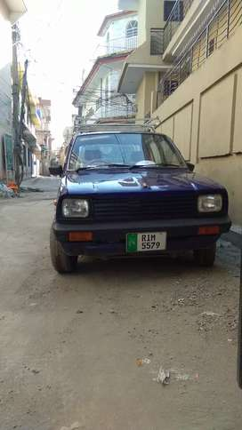 Suzuki fx lush condition 1984 life time token smart card on my name