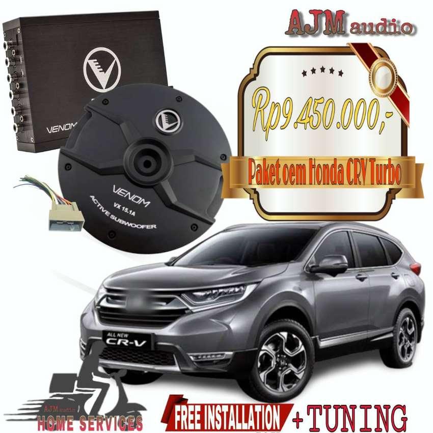 Paket Audio OEM HONDA CRV TURBO 0