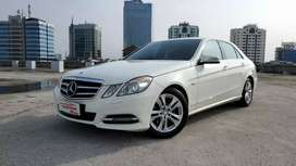 Mercedes Benz E250 Avantgarde W212 2013 NIK 2012 White record ATPM