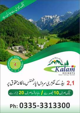 Luxury Survice Appartments for Sale in Kalam
