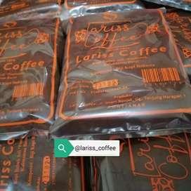 Kopi Bubuk Pontianak Kalimantan Barat Lariss Coffee 500 gr