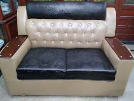 Brand new six seater leather sofa set for sale