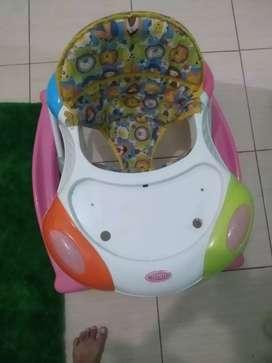 Baby walker stroler alat bantu jalan bayi