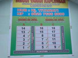 Jual Tanah Kaplingan Lampung Selatan