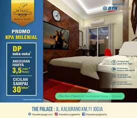 Apartemen 1006 ! The Palace unit terbaik view Merapi Yogyakarta