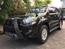 Toyota Fortuner VNT G Diesel AT 2013 AB Hitam