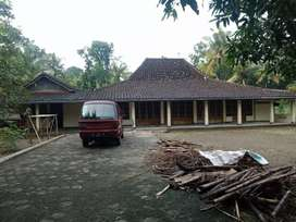 Jual Tanah dan Bangunan full kayu Jati