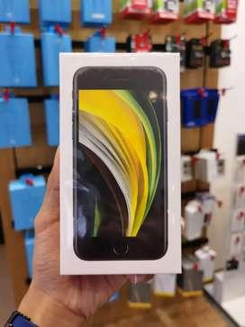 iPhone SE 2020 Black 64gb Garansi Resmi iBox