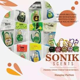 Parfum Gantung Mobil Sonik Botol Apel 10 ml