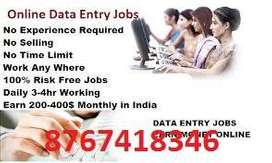 We are all goverment registered we are providing online job
