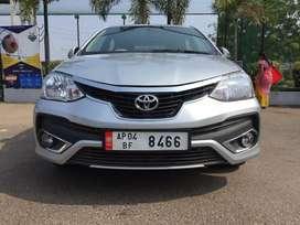 Toyota Etios VX-D, 2017, Diesel
