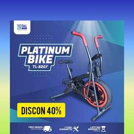 sepeda statis platinum bike total fitnes CT-83