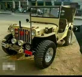 Military design willys jeep