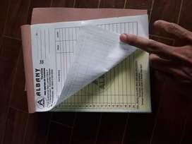 Cetak Nota, kwitansi, DO, Surat jalan dan sejenisnya