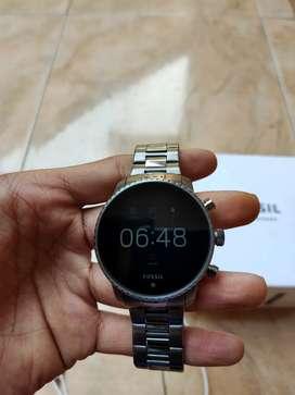 Fossil Smartwatch Gen 4 Explorist HS Smoke, free 2 strap asli fossil