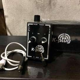 Kplug k plug k-plug mobile recorder Irig soundcard