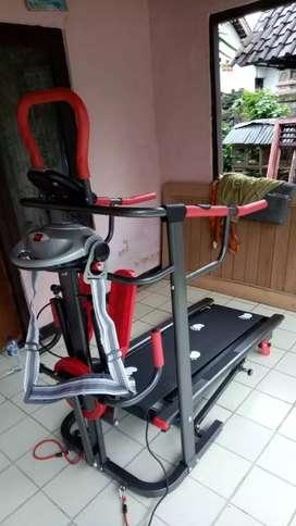 Treadmill full 7 fungsi GRATIS ANTAR