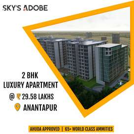 2&3 bhk flats with world class facilities at anantapur