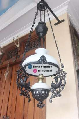 Lampu Gantung Meja Klasik - Dekorasi Hiasan Rumah Hotel Cafe