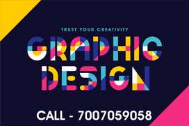 graphic designer and Video editor