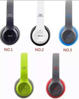 P47 headphone all colours available new and fresh pices available.