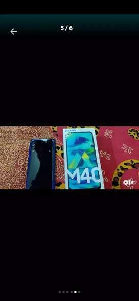 Samsung Galaxy m40 3month 6gb 128gb