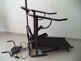 Alat olahraga treadmill manual 5 fungsi murah COD Majalengka