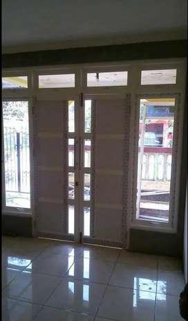Pintu,  jendela,  kusen aluminium,  kaca