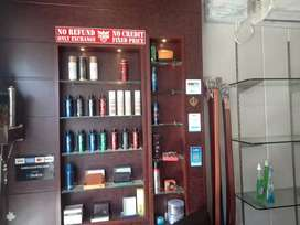 Shop on sale with ac, inverter furniture all accessories