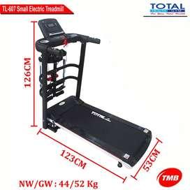 pusat alat fitnes treadmill elektrik 4 fungsi TL 607 bisa COD