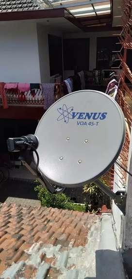 Antena Parabola cocok segala tv lcd dan tabung