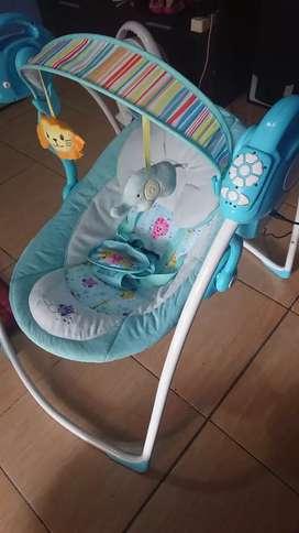 Ayunan bayi elektrik BABYELLE