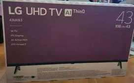 TERMURAH! LG UHD 4K SMART TV 43 INCH 43UK6300 DIGITAL WIFI DOLBY AUDIO