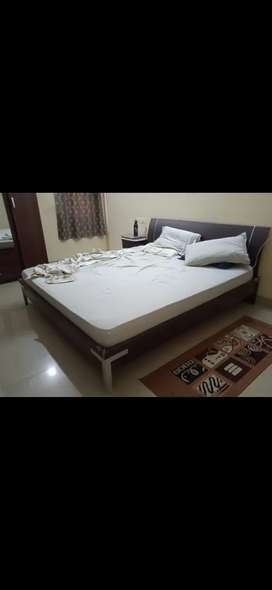 Bed along with its mattress