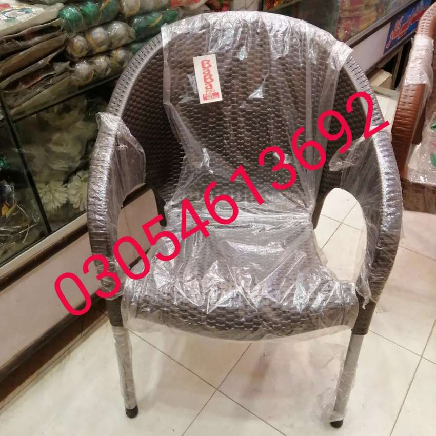 Plastic chair sofa shape in pure