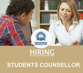 STUDENTS COUNSELLOR (FEMALE)