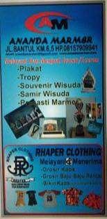 lowongan kerja driver di Ananda Marmer dan Rapher Clothing