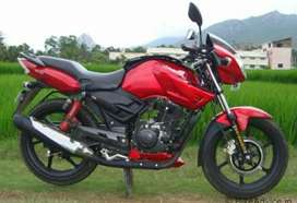 Apache RTR 160cc Red colour  for sale. I am woner of this bike.