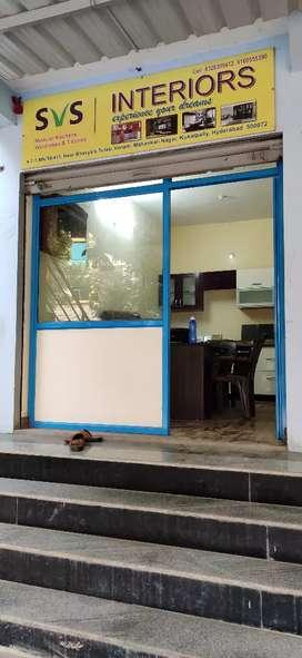 Shop glass shutter