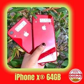 SECOND IPHONE XR 64 GB EKS INTER - FULLSET