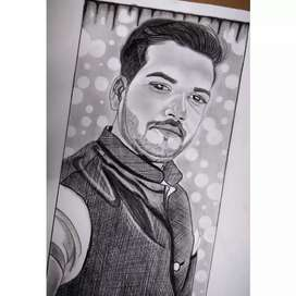 Dm for order your sketch/painting