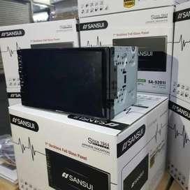 Doubledin Sansui 7 inch touch screen tape mobil sansui deckles nondisc