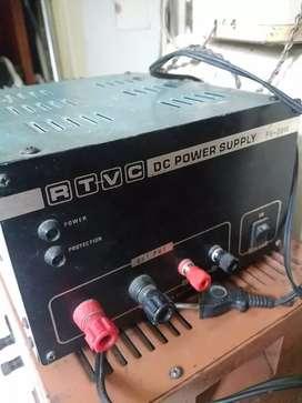 RTVC DC Power Supply PV 2010