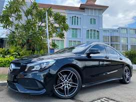 CLA200 Sport AMG 2018 Nik18 Black Km4000 Panoramic Sunroof Wrnty3Thn