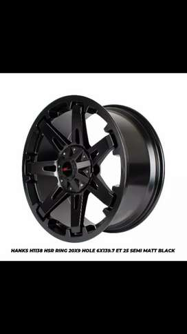 Jual pelek racing hsr ring 20,pajero, fortuner, everest dll