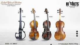 Have you checked Hi Volts Brand Violins ?